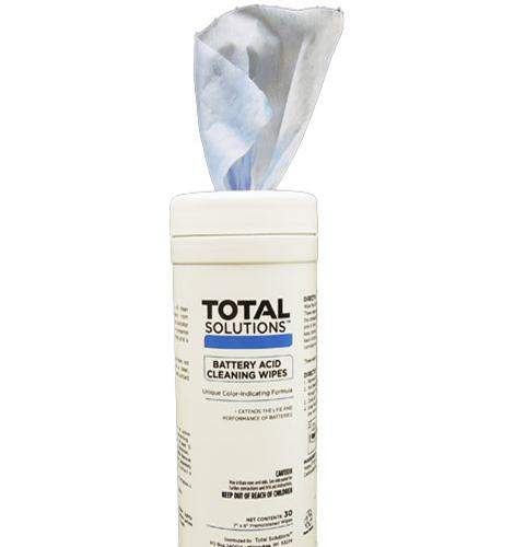Battery Acid Cleaning Wipes