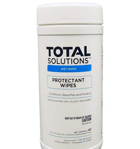 Protectant Wipes – For Leather, Vinyl, And Rubber