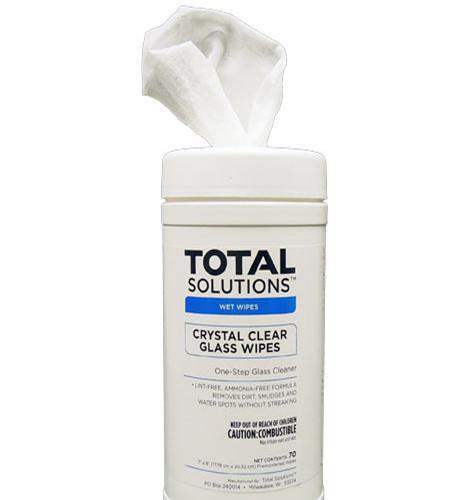 Crystal-clear Glass Wipes