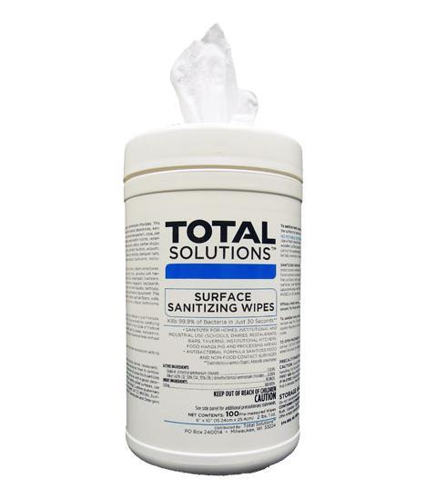 Surface Sanitizing Wipes