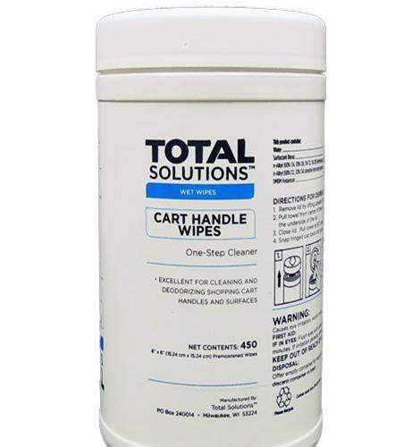 Cart Handle Wipes – Surface Cleaner