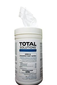 New! Spec4 Disinfectant Wipes